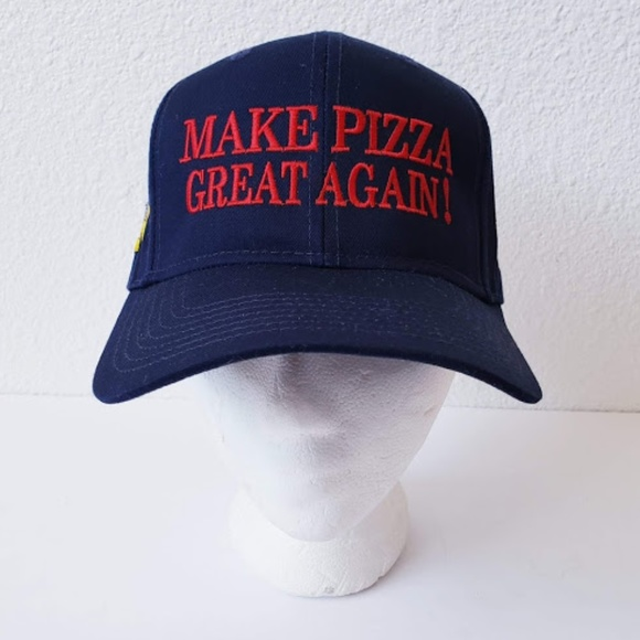 2aac6511ef7 OTTO Accessories | Make Pizza Great Again Cap Embroidered | Poshmark